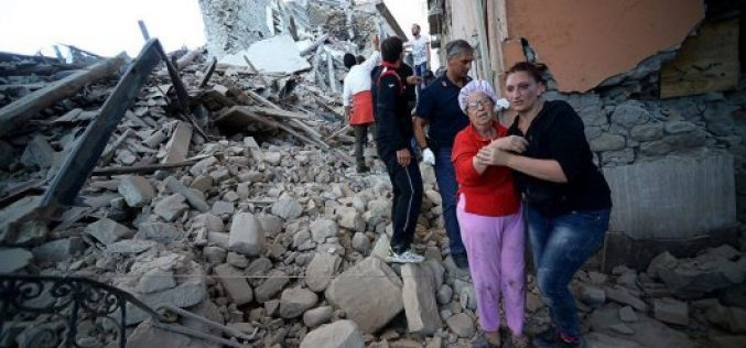 Италиядағы алапат зілзаладан 159 адам қаза тапты