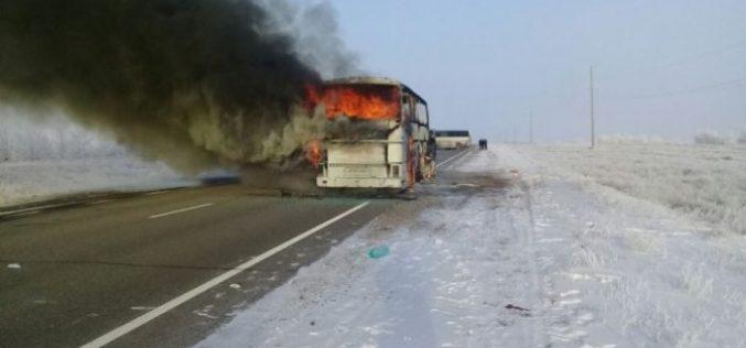 52 адамның өмірін жалмаған автобус өртінің видеосы мен фотосы жарияланды