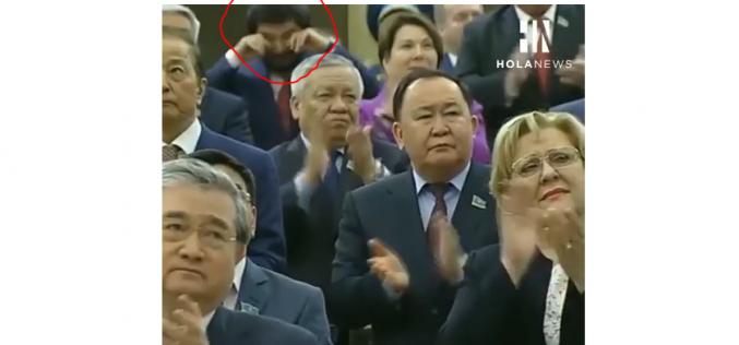 Назарбаев өкілеттігін тапсырғанда жылаған Бекболат Тілеухан видеоға түсіп қалды