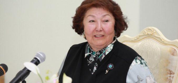 Сара Назарбаева І дәрежелі «Барыс» орденін алды