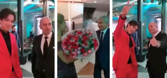 Тасмағамбетов пен Димаш коронавирус жұқтырған әйгілі әншімен бір тойда болған (видео)