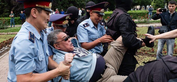 «Жазушылар аллеясы»: Нұр-Сұлтанда митинг өткізетін жерлер белгіленді