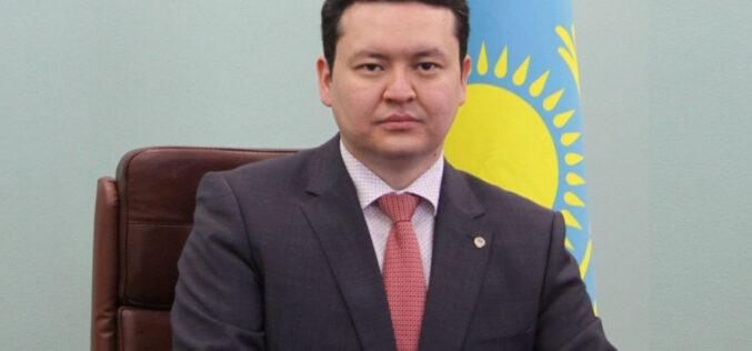 Денсаулық сақтау вице-министрі Олжас Әбішев ұсталды